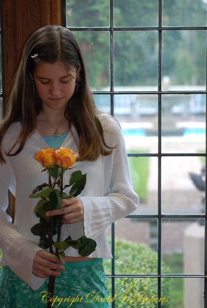 Rachel at piano recital