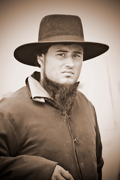 Amish Young Man
