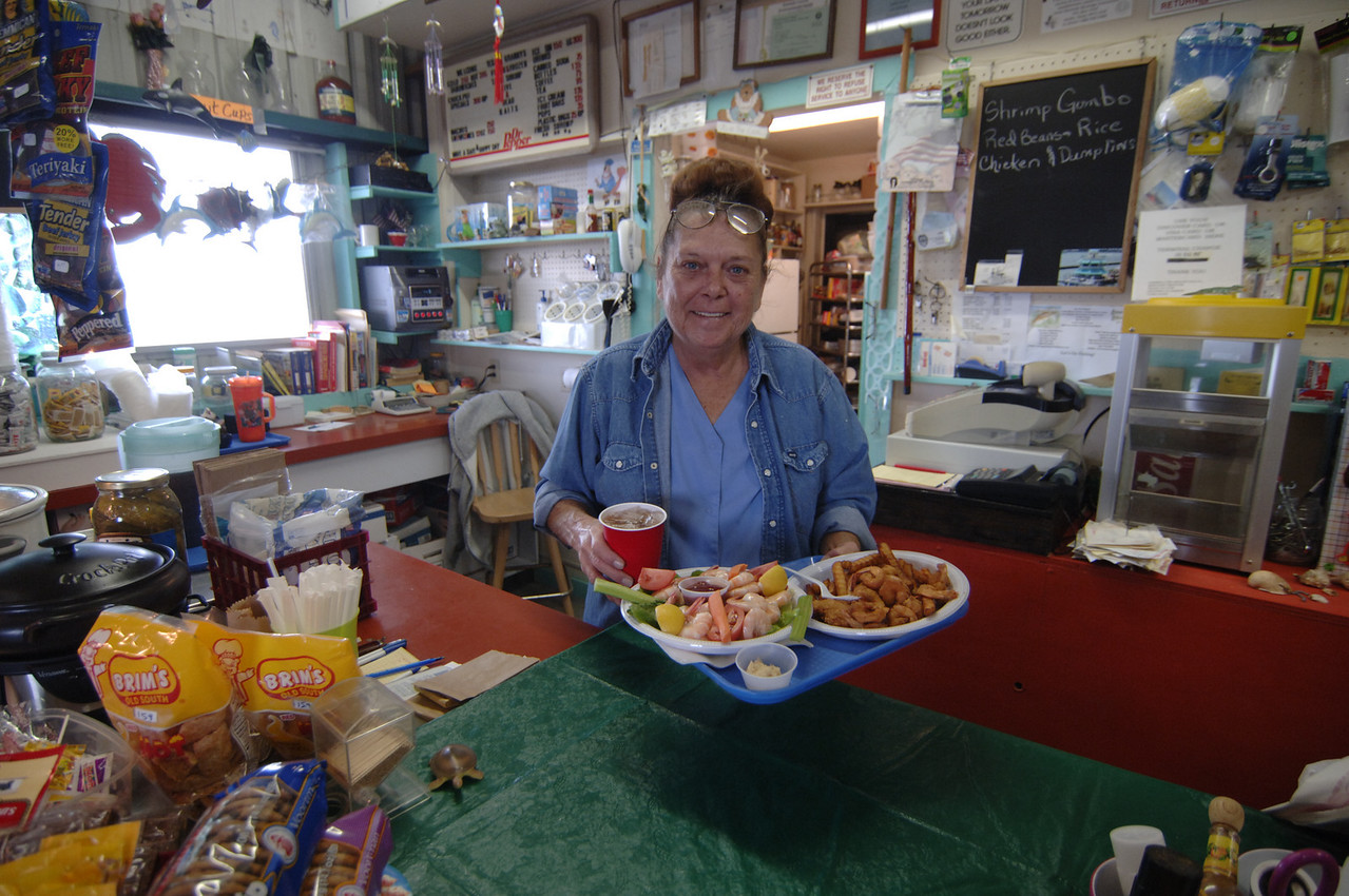 Margaret's Place, end of Bigelow St, Aransas Pass, Texas- Best place for shrimp in Texas