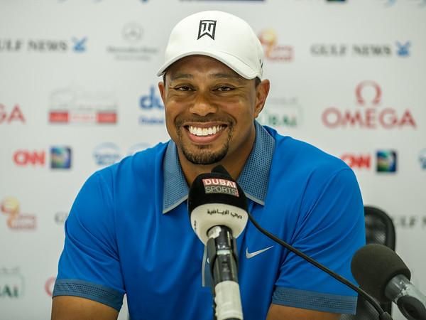 Environmental Portraits. Tiger Woods