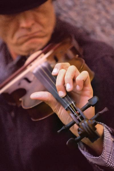 The Hand Of A Fiddler Man