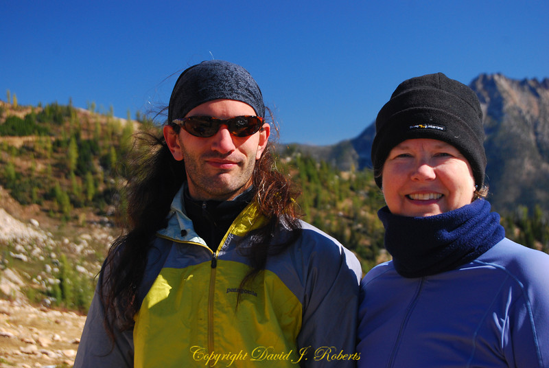 Baccus and Allison at Cutthroat Pass