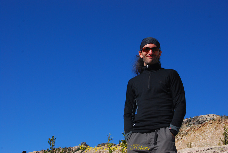Baccus at Cutthroat Pass