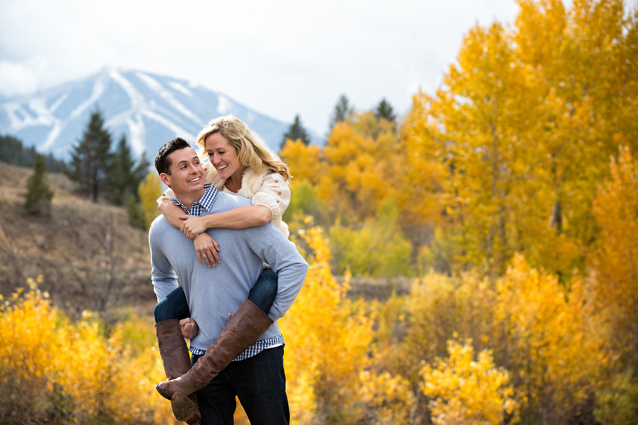 Sun Valley Engagement