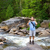 Craig at Big Niagra in Baxter State Park, Maine.