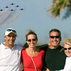 Floridians enjoying the Blue Angels