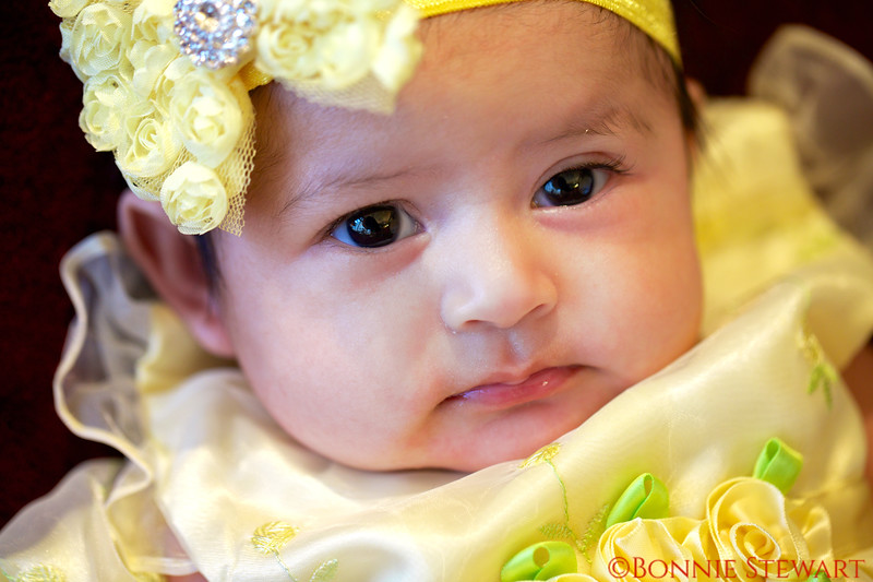 Erika Anna Lee Tablas, two months old