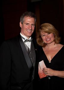 Sen. Scott Brown (R-MA) with wife Gail Huff  (2010 RTCA Dinner)