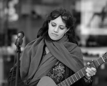 Street Performance Songstress - Bath - April 13th 2014
