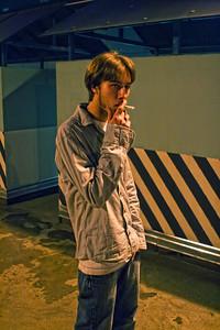 Max smokin'