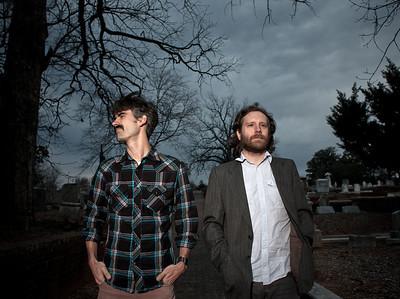Sans Abri, an American Alt-roots duo from Atlanta.