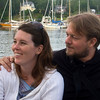 Dana and Craig aboard the schooner Appledore.