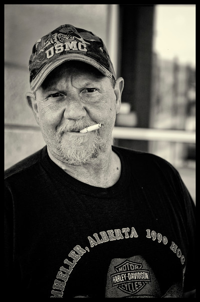 The Trucker.  Great guy we met outside a pub one evening.