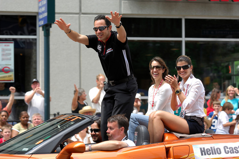 Indianapolis 500 Parade, 2007, Helio Castroneves