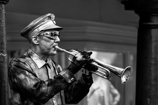 Winchester Street Trumpeter