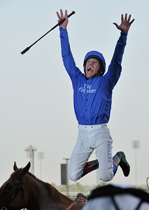 Environmental Portraits.  Frankie Dettori