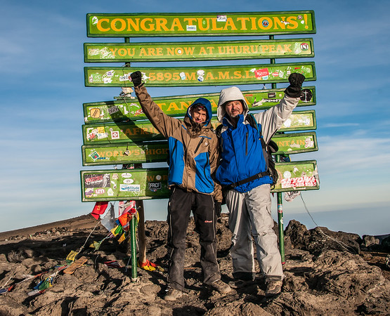 Environmental Portraits.  Mount Kilimanjaro