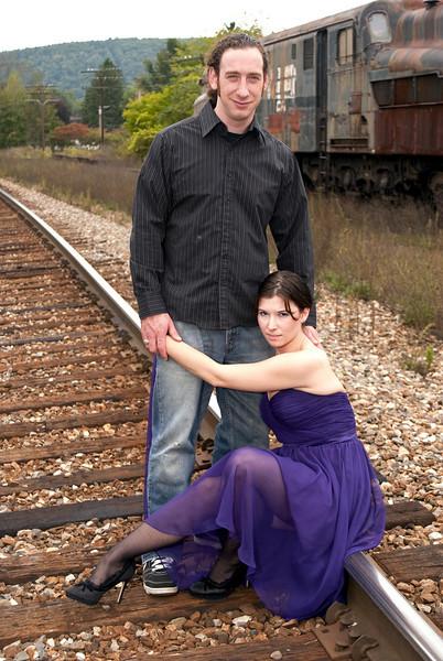 Mark & Rachel engagement, 2010