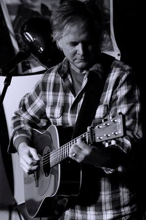 Guitarist ~ black and white