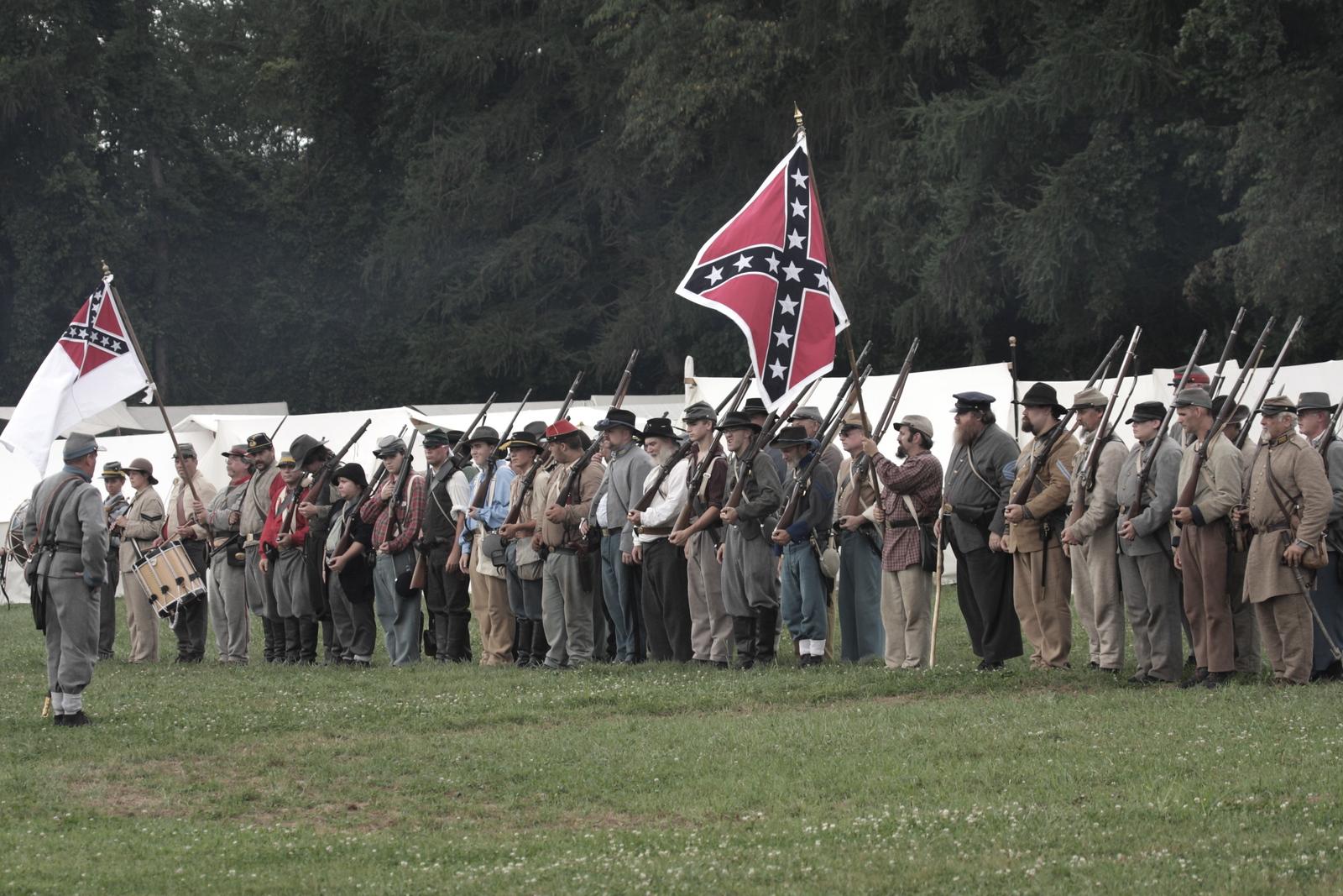 Confederate Soldiers - US Civil War