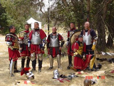 Potrero 2005 & Matts knighting