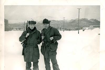 1952-01_Jerry and James Wheeler Ft Richardson Alaska