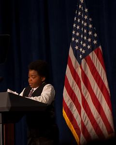 Marcelas Owens, an 11-year old who advocated for health care reform directly to Senator Murray after his mother lost her job and died without medical care.  He stood beside President Obama during the Healthcare Bill signing seminar.