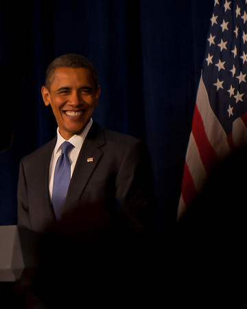 President Obama in Seattle