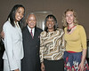 Diana Placide, David Dinkins, Robin DeRoche, Suzanne Scholten<br /> Bridges for Healthy Babies Educational Workshops on Teen Health, a project of The Northern Queens Health Coalition at Queens Borough Hall with Keynote Speaker:  Hon. Mayor David N. Dinkins.<br /> New York, NY, USA - 5/11/07<br /> Photo by Steve Mack