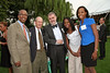 Joseph Placide, Lewis Hartman, Richard Murphy, Christine Placide, Diana Placide at David Dinkins 80th Birthday Party at Gracie Mansion in New York City.  <center>New York, NY July 16, 2007 Photo by Steve Mack/S.D. Mack Pictures