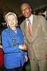 Sen. Hillary Rodham Clinton, Joseph Placide at David Dinkins 80th Birthday Party at Gracie Mansion in New York City.  <center>New York, NY July 16, 2007 Photo by Steve Mack/S.D. Mack Pictures