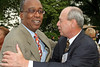 Joseph Placide, Lewis Hartman at David Dinkins 80th Birthday Party at Gracie Mansion in New York City.  <center>New York, NY July 16, 2007 Photo by Steve Mack/S.D. Mack Pictures