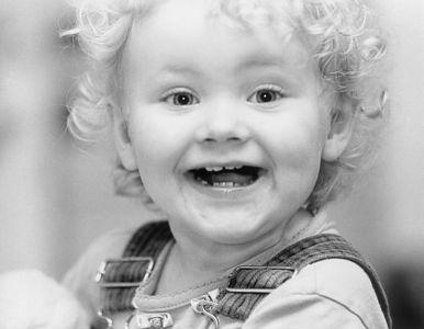 kid smiling wide