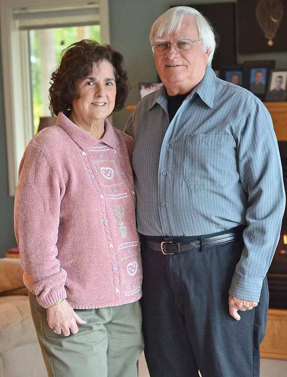 . Suzanne and Leo Rufiange attended his senior prom at St. Bernard\'s Catholic High School in 1961. They married in 1963 and reside together in Ashburnham. SENTINEL & ENTERPRISE / Ashley Green