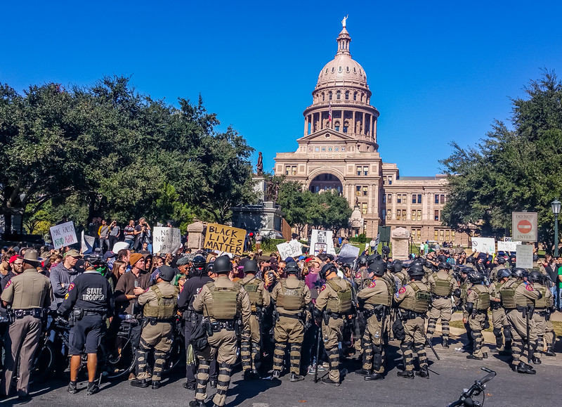 protest at the capitol