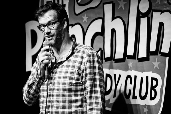 Marcus Brigstocke at Punchline Comedy Club