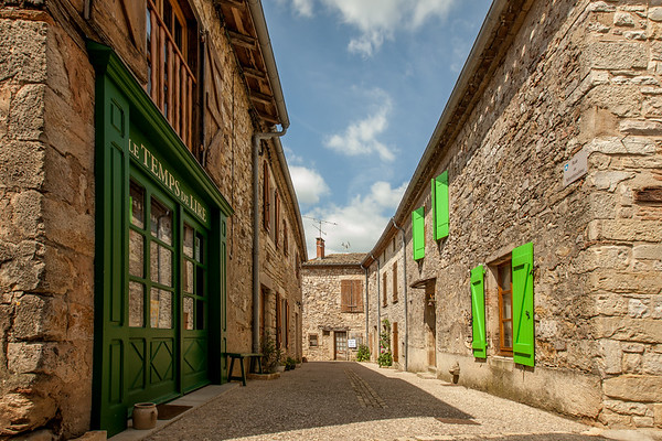 Medieval town of Puycelsi, Southern France