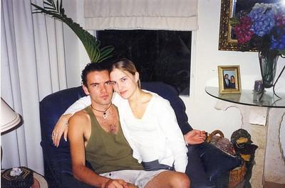 Hazard and his girlfriend