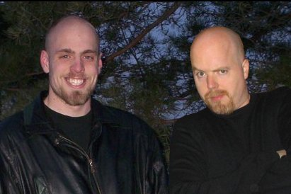 Mr. Diffrence and Tom Hall (right)