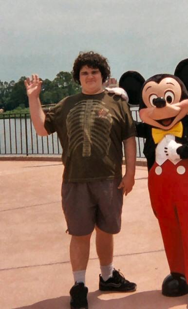 Gamebrain at Disney World, summer 2004
