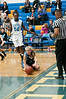 Rachel Sisco dives for a loose ball.