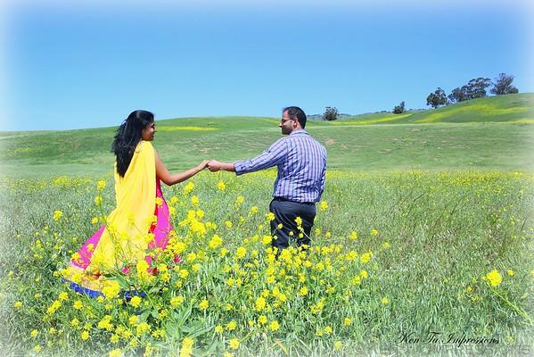 Raj & Geetha's Post Wedding Offsite Shoot