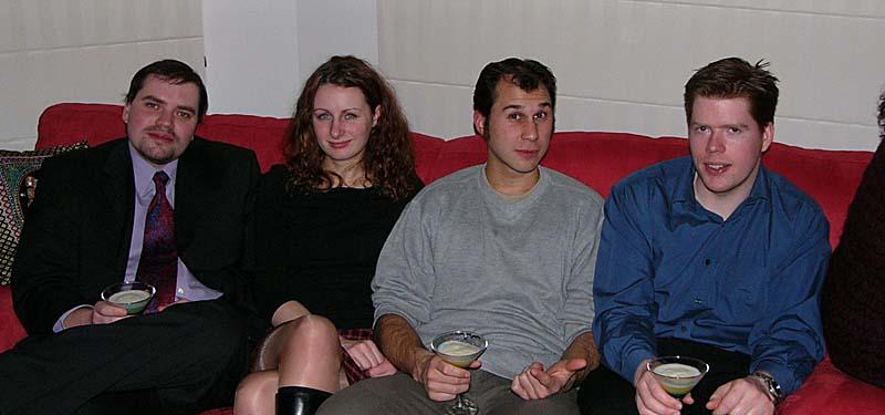 Ed, Mia, Simon and Andrew
