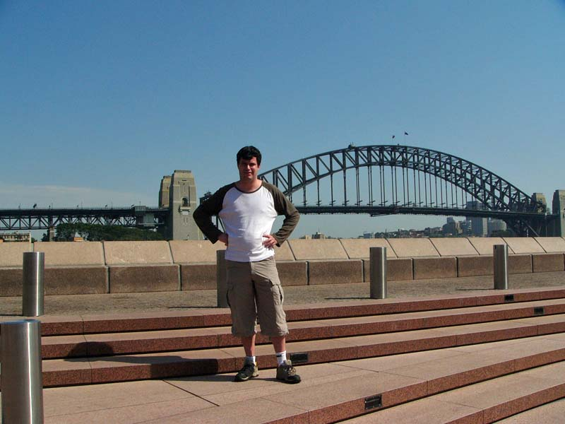 Me photoshopped into a Sydney picture?