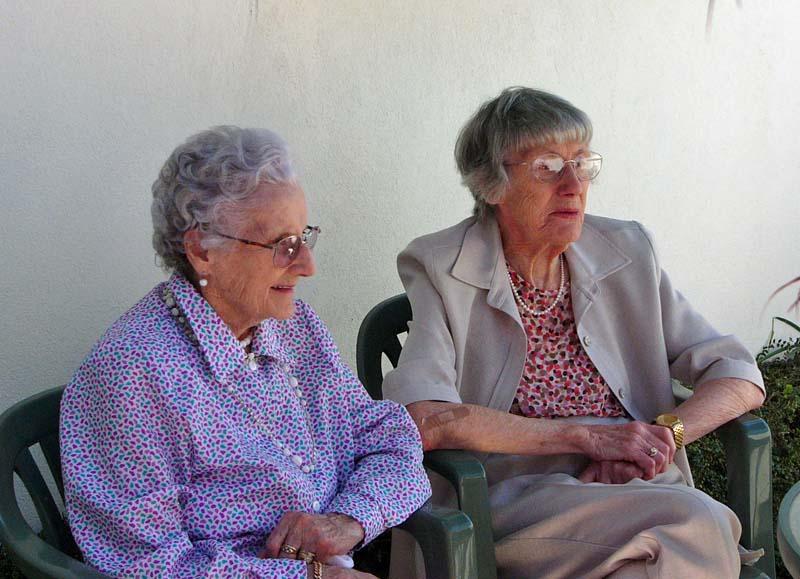 Auntie Maye and Grandma