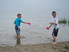 TJ  and Brady at Gray's Beach