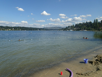 I had awesome weather while in WA for nine days - no rain!