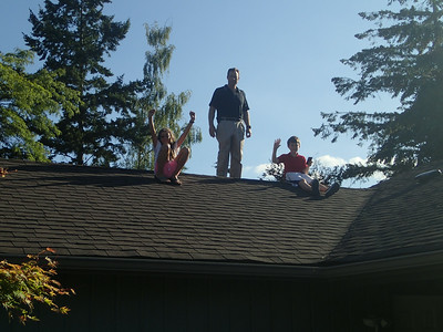 Gnarly climbers attain new heights - ahead of solar panels arriving soon!