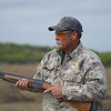 Shotgun safety is vital when hunting at Stasney's Cook Ranch in Albany, Texas.