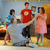"Tommy Hinkley  points to Izzy Woolson, 12, for her response, as Lizzy Zimmerman and Anton Pinkerton, participate.<br /> Tommy Hinkley and his wife, Tracey, own a business in Superior called Reel Kids. The pair teach kids and teens film and television acting.<br /> For a video about Reel Kids, go to  <a href=""http://www.dailycamera.com"">http://www.dailycamera.com</a>.<br />  Cliff Grassmick / September 17, 2011"